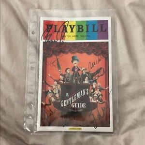 Other - Signed Pride Playbill from 'A Gentleman's Guide..'